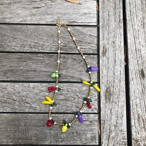 Fruit party necklace urban outfitters